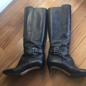 Jimmy Choo Knee High ZIP Boots